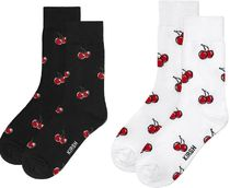 KIRSH Tropical Patterns Street Style Cotton Socks & Tights
