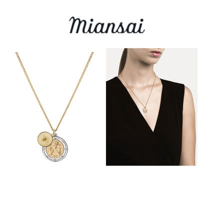 Casual Style Coin Street Style Silver Necklaces & Pendants