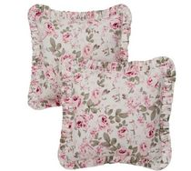 SHABBY CHIC COUTURE Flower Patterns Decorative Pillows