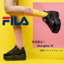 FILA Disruptor 2 Platform Casual Style Street Style Other Animal Patterns