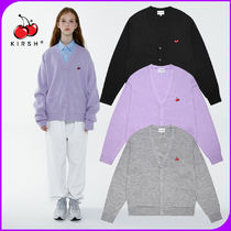 KIRSH Long Sleeves Cotton Oversized Cardigans