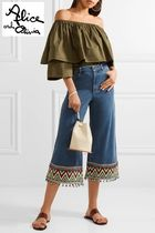 Alice+Olivia Denim Wide & Flared Jeans