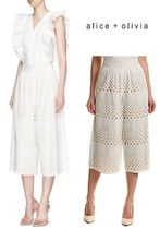 Alice+Olivia Casual Style Medium Lace Culottes
