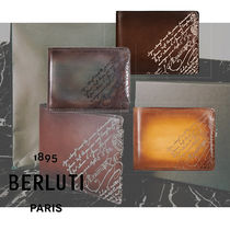 Berluti Leather Folding Wallets