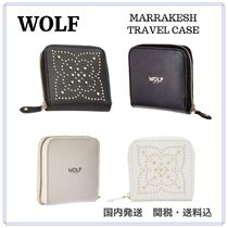WOLF Studded Travel Accessories