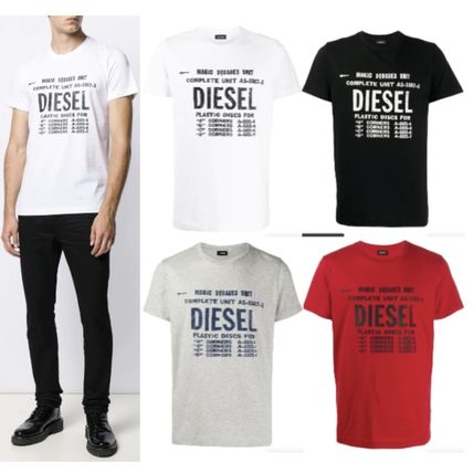 DIESEL More T-Shirts Unisex Street Style Cotton T-Shirts