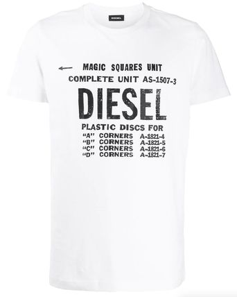 DIESEL More T-Shirts Unisex Street Style Cotton T-Shirts 2