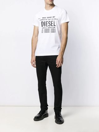DIESEL More T-Shirts Unisex Street Style Cotton T-Shirts 3