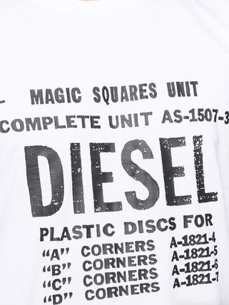 DIESEL More T-Shirts Unisex Street Style Cotton T-Shirts 6