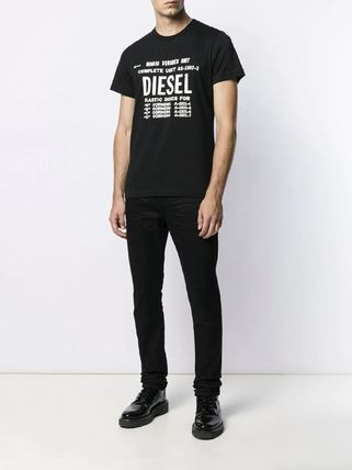 DIESEL More T-Shirts Unisex Street Style Cotton T-Shirts 9