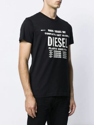 DIESEL More T-Shirts Unisex Street Style Cotton T-Shirts 10