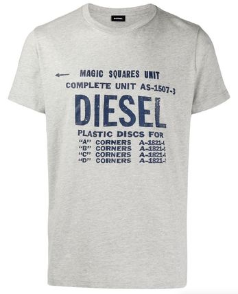DIESEL More T-Shirts Unisex Street Style Cotton T-Shirts 13