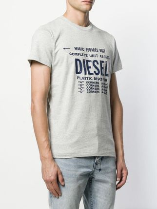 DIESEL More T-Shirts Unisex Street Style Cotton T-Shirts 15