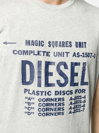 DIESEL More T-Shirts Unisex Street Style Cotton T-Shirts 17