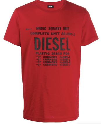 DIESEL More T-Shirts Unisex Street Style Cotton T-Shirts 18