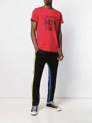 DIESEL More T-Shirts Unisex Street Style Cotton T-Shirts 19