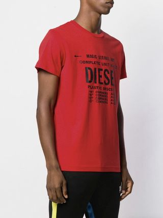 DIESEL More T-Shirts Unisex Street Style Cotton T-Shirts 20