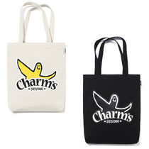 Charm's Casual Style Unisex Canvas Street Style Collaboration A4