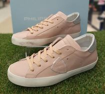 PHILIPPE MODEL PARIS Rubber Sole Casual Style Unisex Leather Handmade