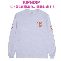 RIPNDIP Crew Neck Long Sleeves Long Sleeve T-Shirts