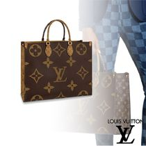 Louis Vuitton MONOGRAM Totes