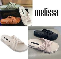 Melissa Casual Style Collaboration PVC Clothing Sandals Sandal