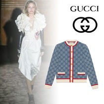 GUCCI Unisex Wool Elegant Style Outerwear