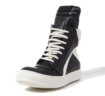 RICK OWENS Rubber Sole Casual Style Unisex Leather Handmade