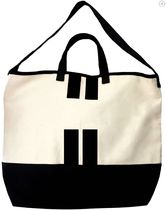 Bag all Casual Style Unisex Canvas A4 2WAY Bi-color Totes