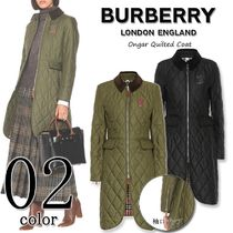 Burberry Other Check Patterns Casual Style Street Style Plain Medium