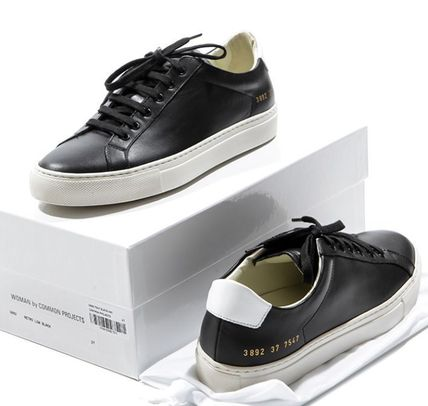 Rubber Sole Casual Style Unisex Leather Handmade