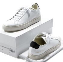 Common Projects Rubber Sole Casual Style Unisex Leather Handmade