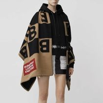 Burberry Unisex Wool Ponchos & Capes