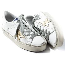 Golden Goose Rubber Sole Casual Style Unisex Leather Handmade