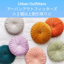 Urban Outfitters Blended Fabrics Plain Decorative Pillows