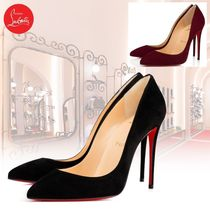Christian Louboutin Pigalle Follies Bi-color Pin Heels Elegant Style Stiletto Pumps & Mules