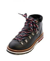 MONCLER Mountain Boots Rubber Sole Casual Style Leather