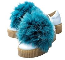 Mr & Mrs Furs Rubber Sole Casual Style Unisex Leather Handmade