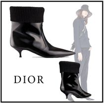 Christian Dior 19-20AW DIOR BEAT LOW BOOT IN BRUSHED CALFSKIN 34-41 black