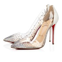 Christian Louboutin PVC Clothing High Heel Pumps & Mules