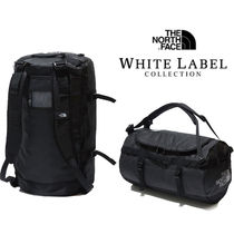 THE NORTH FACE WHITE LABEL Unisex Street Style A4 2WAY Plain Logo Boston Bags