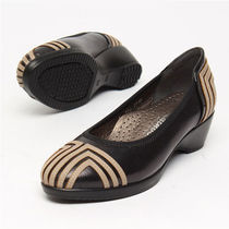Round Toe Casual Style Street Style Leather