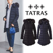 TATRAS LAVIANA Wool Plain Down Jackets