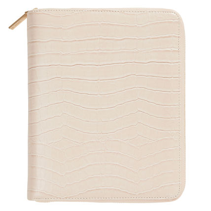 Leather Free/A5Size Croc Planner