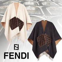 FENDI Wool Ponchos & Capes