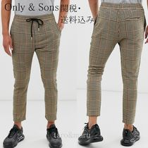 ASOS Printed Pants Other Check Patterns Zigzag Cotton