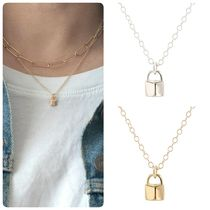 Ron Herman Casual Style Unisex 18K Gold Fine