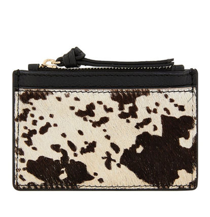 Other Animal Patterns Leather Small Wallet Card Holders