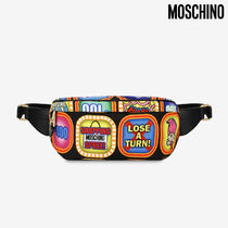 Moschino Casual Style Hip Packs