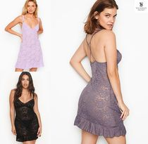 Victoria's secret Flower Patterns Blended Fabrics Lace Slips & Camisoles